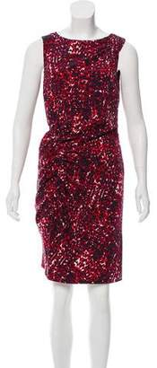 Thakoon Abstract Print Sleeveless Dress