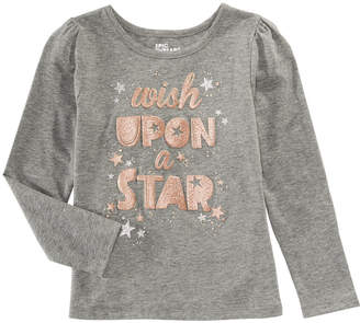 Epic Threads Toddler Girls Long-Sleeve Star T-Shirt