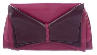 Ted Baker Eve Leather Bow Chain-Link Bag