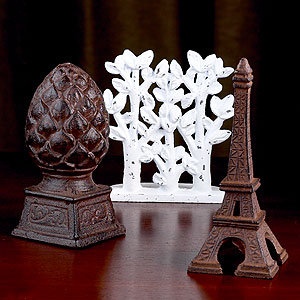 Eiffel Tower Cast Iron Doorstop