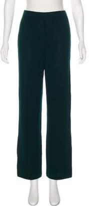 St. John Knit Wide-Leg Pants