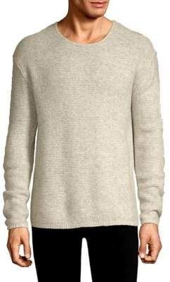 John Varvatos Cashmere Silk Crewneck Sweater