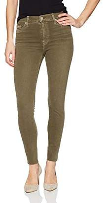 Hudson Women's Barbara High Waist Ankle Raw Hem Skinny 5 Pocket Jean