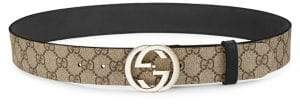 Gucci Interlocking G Logo Belt