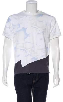 Kenzo Cloud Print Jersey T-Shirt