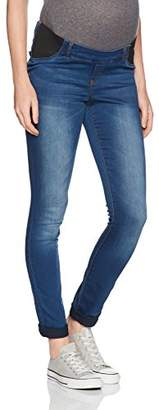 Mama Licious Mamalicious Women's Mlninety Slim Jegging W Ela Trouser,(Manufacturer Size: 30.0)