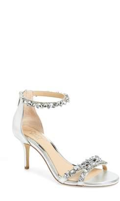 Badgley Mischka Caroline Embellished Sandal