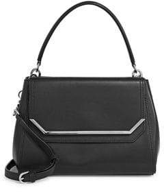 Calvin Klein Leather Top Handle Bag