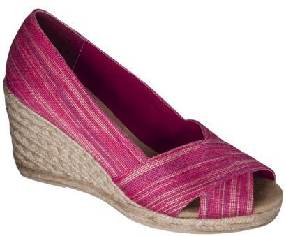 Merona Women's Evaline Wedge Heel - Coral