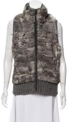 Heartloom Fur Wool-Blend Vest