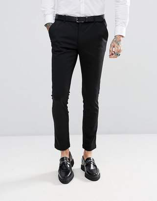 Devils Advocate Super Skinny Plain Suit Pants