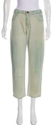 Current/Elliott The Boyfriend High-Rise Straight-Leg Jeans w/ Tags
