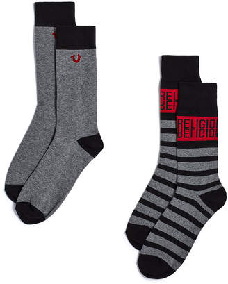 True Religion TRUE MIRROR SOCKS - 2 PK