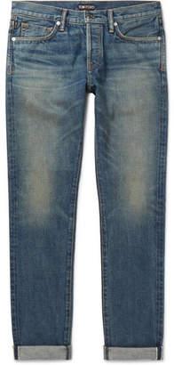 Tom Ford Slim-Fit Selvedge Denim Jeans - Men - Blue