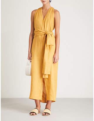 Three Graces London Minerva linen dress
