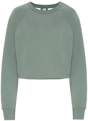 Alo Yoga Transcend cotton-blend sweatshirt
