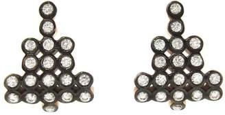 Yannis Sergakis Adornments Diamond Charnieres Stud Earrings