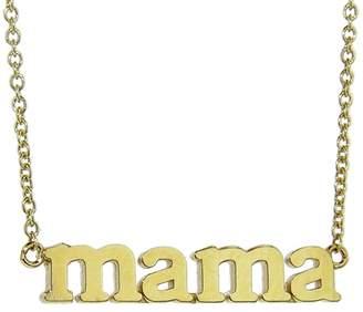 Jennifer Meyer Mama Necklace - Yellow Gold