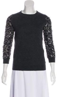 Rachel Zoe Sequin Long Sleeve Sweater w/ Tags
