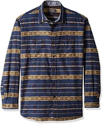 Pendleton Men's Long Sleeve Button Front Classic-fit Kyler Archive Shirt