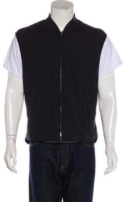 Loro Piana Reversible Cashmere-Blend Quilted Vest