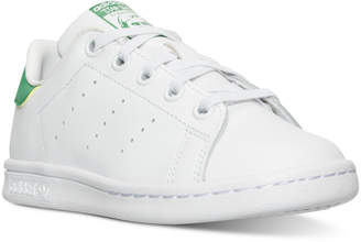 adidas Little Boys' Stan Smith Casual Sneakers from Finish Line $54.99 thestylecure.com