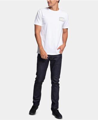 Quiksilver Men Between the Lines Graphic T-Shirt