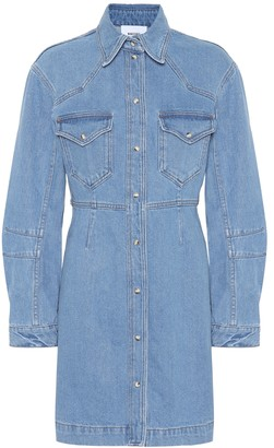 Nanushka Vilma denim shirt dress