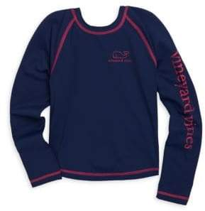 Vineyard Vines Toddler's, Little Girl's & Girl's Long Sleeve Rash Guard