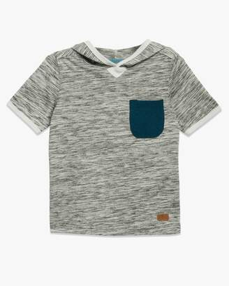 7 For All Mankind Boys 4-7 Short-Sleeve Crew Neck Tee in Textured Grey