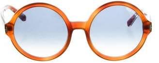 Tom Ford Juliet Round Sunglasses