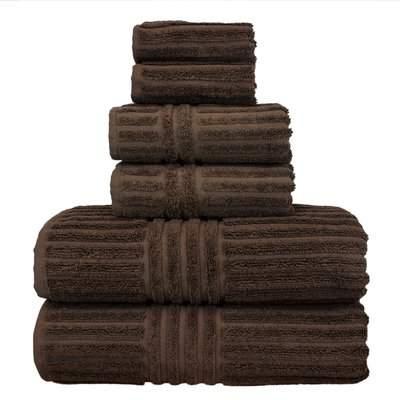 Wayfair Michelle 6-Piece 100% Turkish Cotton Towel Set