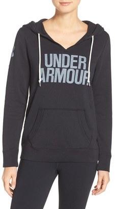 Women's Under Armour 'Favorite' Logo Hoodie $54.99 thestylecure.com