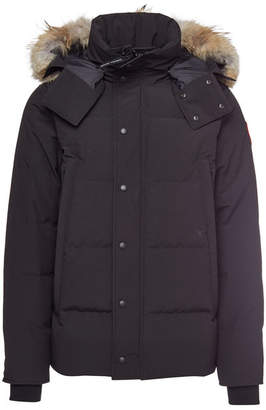 Canada Goose Wyndham Parka with Fur-Trimmed Hood