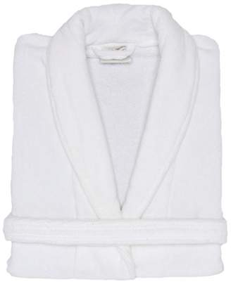 Mirko Terry Velour Shawl Bathrobe%100 Cotton Men's Women's Robe Best Gift for Her(,XXL)