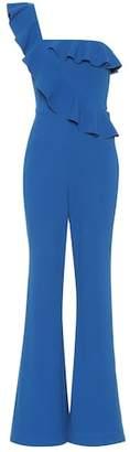 Rebecca Vallance One-shoulder crêpe jumpsuit