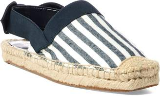 Lauren Ralph Lauren Ralph Lauren Striped Canvas Espadrille