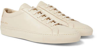 Common Projects Original Achilles Leather Sneakers - Cream