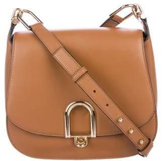 a0c57a9420c4 Michael Kors Delfina Leather Saddle Bag