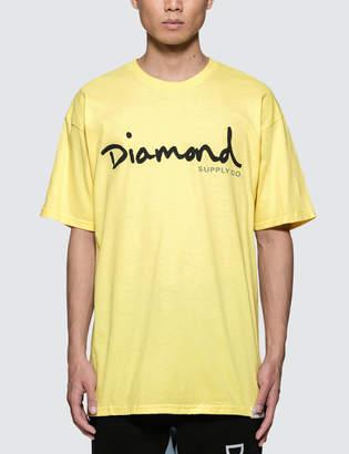 Diamond Supply Co. OG Script S/S T-Shirt