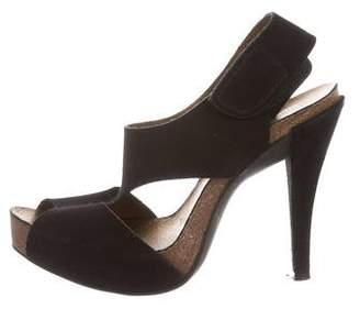 Pedro Garcia Cutout Velcro Sandals