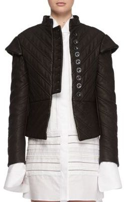 Burberry Burberry Leather Quilted Jacket
