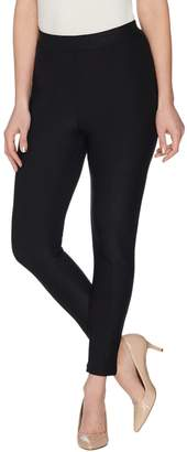 Joan Rivers Classics Collection Joan Rivers Regular Ankle Length Leggings with Seam Detail