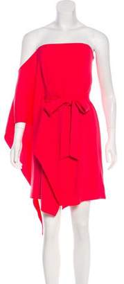 Halston Draped Strapless Dress w/ Tags