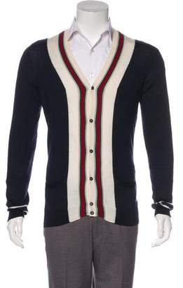Gucci Wool & Silk Cardigan