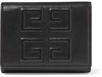 Givenchy Embossed Textured-leather Wallet - Black