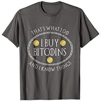 Mens Bitcoin Parody Miner Trader Cryptocurrency T Shirt Hodl