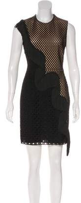 Stella McCartney Eyelet Mini Dress