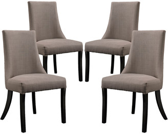 Modway Reverie Dining Side Chair Upholstered Fabric Set