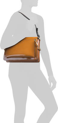 Made In Italy Roy Patent Leather Shoulder Bag